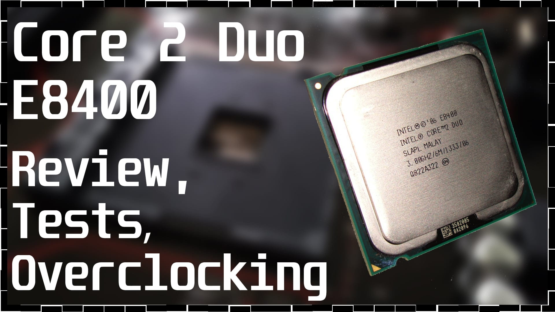 Wolfdale в 2012 году: Разгон и тесты Intel Core 2 Duo E8400, E6300 и Phenom II X2 545
