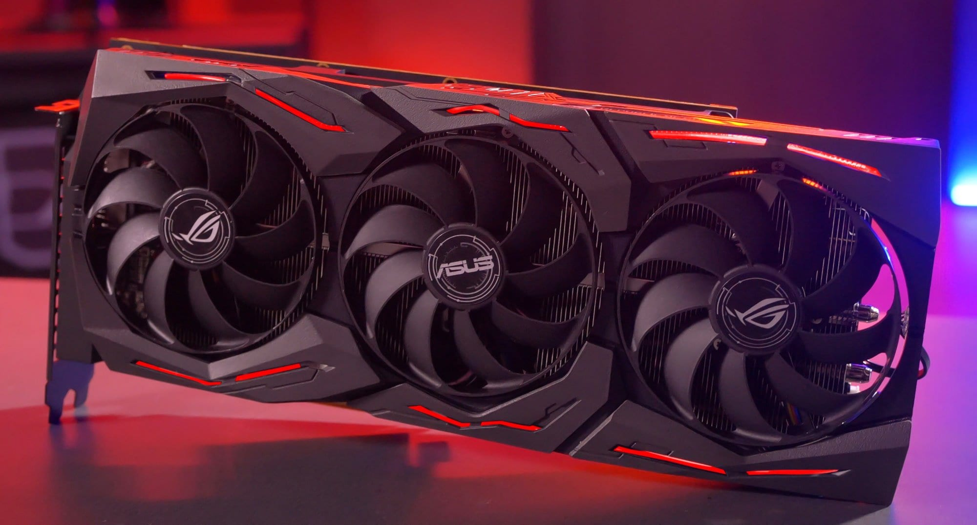Gigabyte, HIS, and ASUS showed their versions of video cards Radeon RX 5700