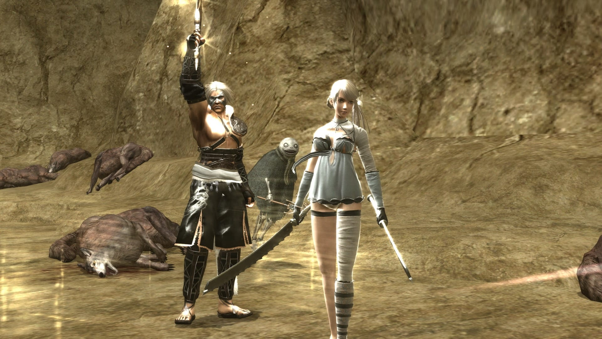 RPCS3 developers managed to overcome 30 fps in NieR games.