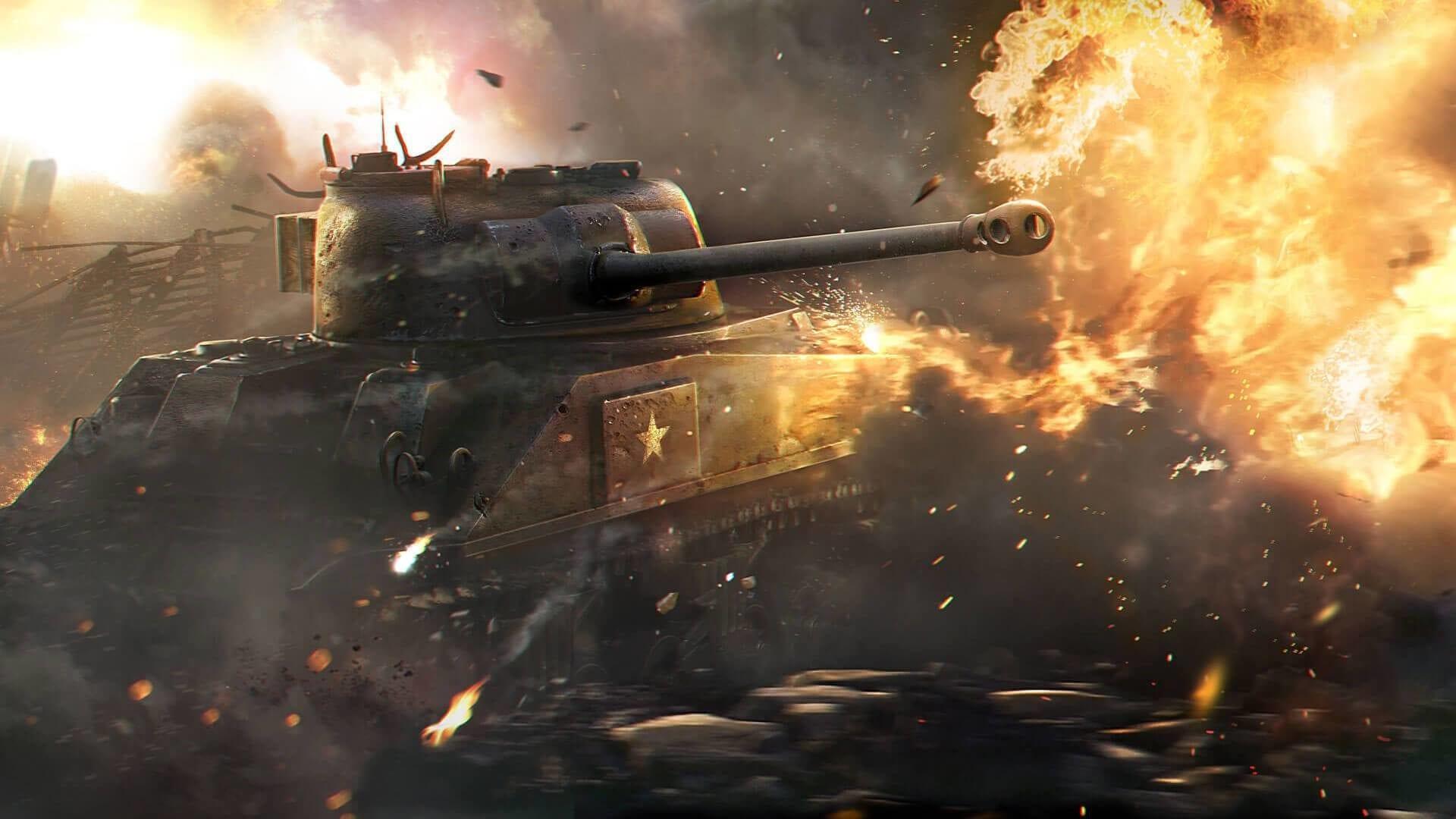 В скором времени игра World of Tanks обзаведется  технологией трассировки лучей