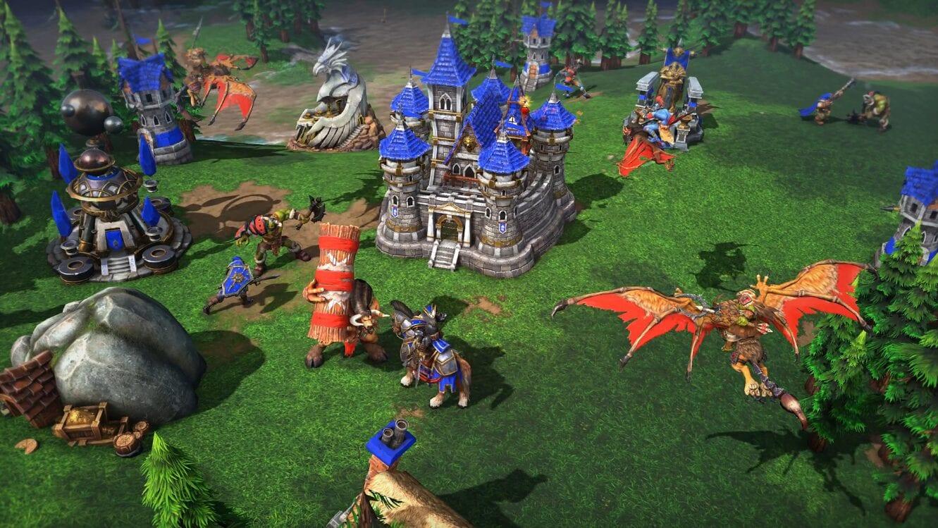 Опубликован геймлей Warcraft 3 Reforged в 1080p, 60FPS при максимальных настройках графики