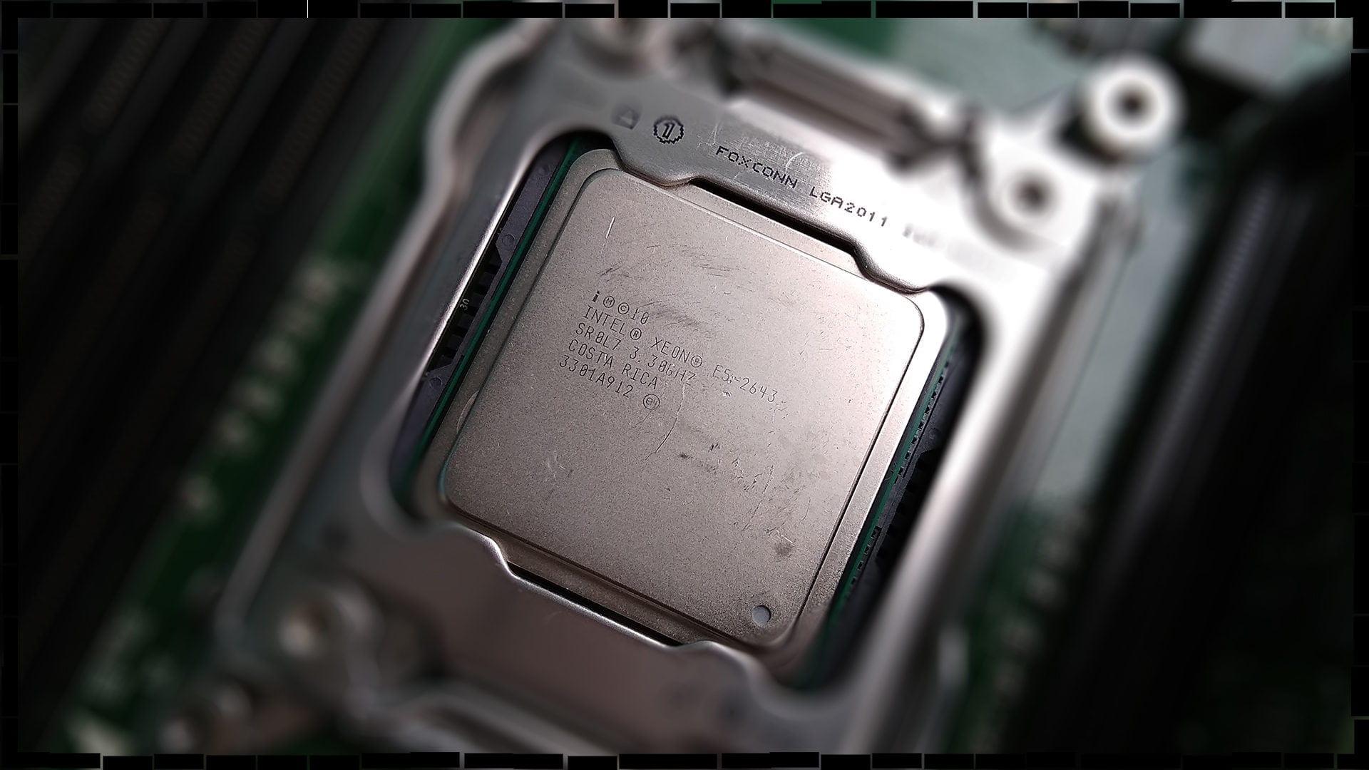 Обзор и тестирование процессора Intel Xeon E5-2643