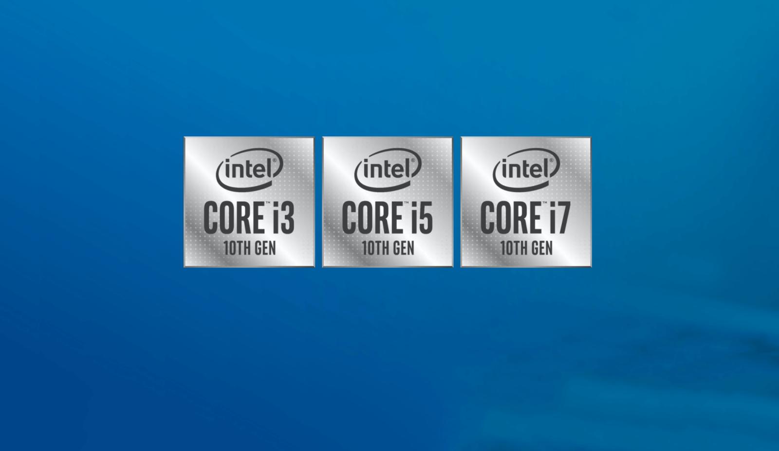 10-поколения процессоров Intel Core: i5-10600 с 6 ядрами,12 потоками и i3-10300 с 4 ядрами, 8 потоками