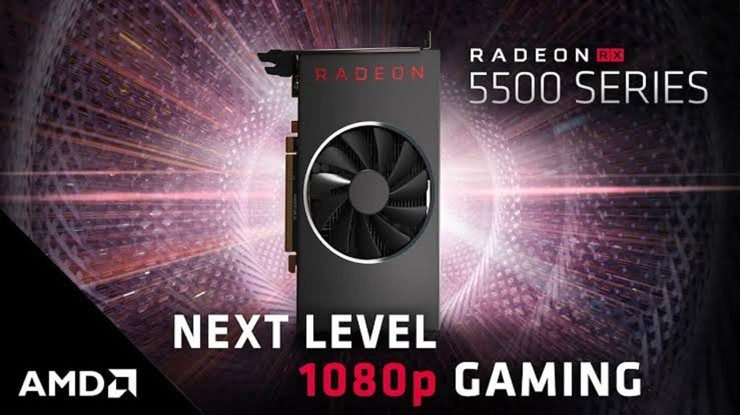 Видеокарта AMD Radeon RX 5500 XT добралась до релиза