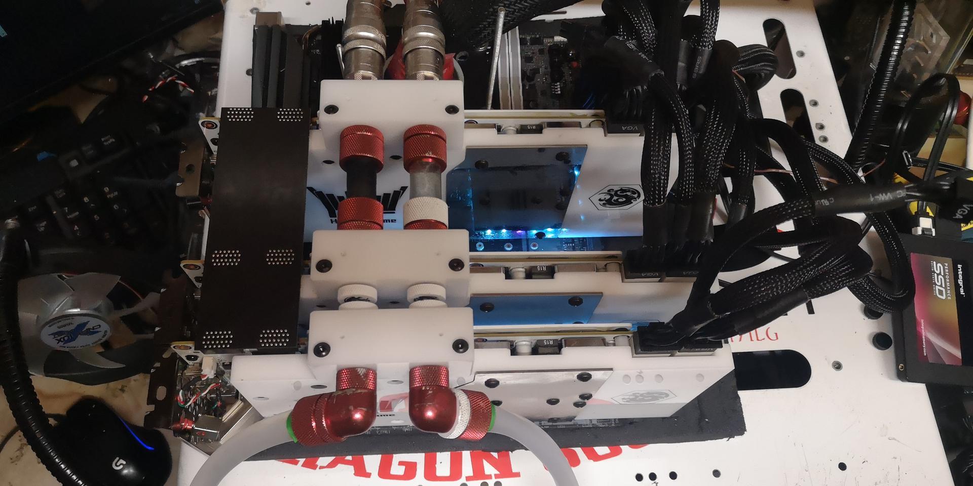 Dragon Soop установил рекорд в модельном зачете трех GeForce GTX 980 Ti