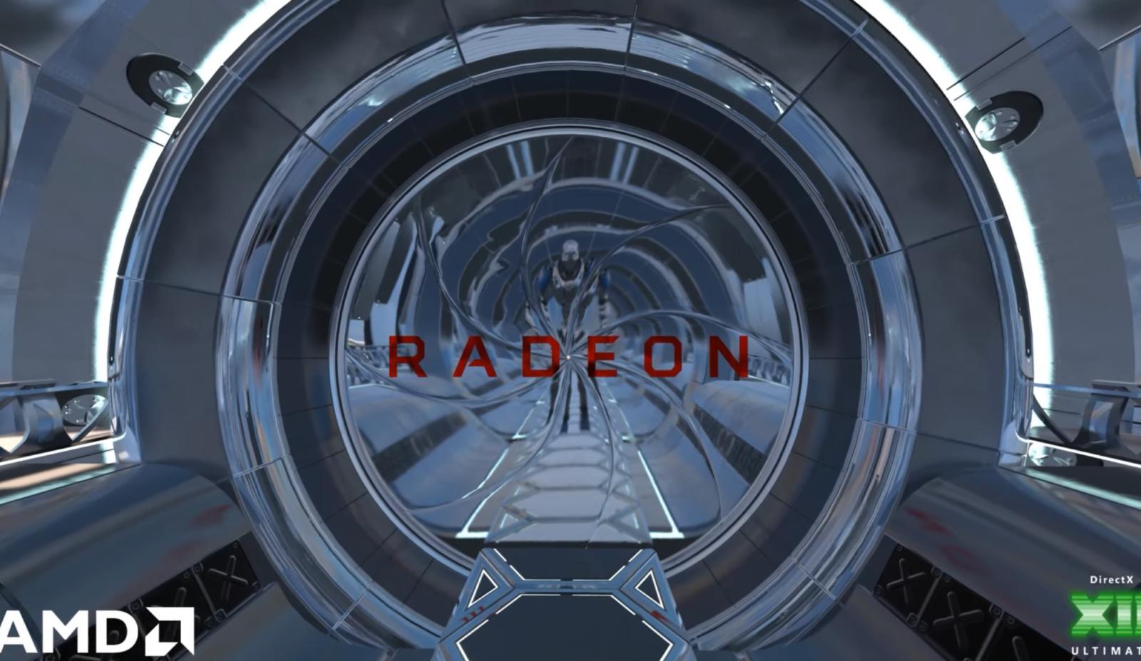 AMD продемонстрировала Microsoft DirectX Raytracing на новом поколении видеокарт с архитектурой RDNA 2