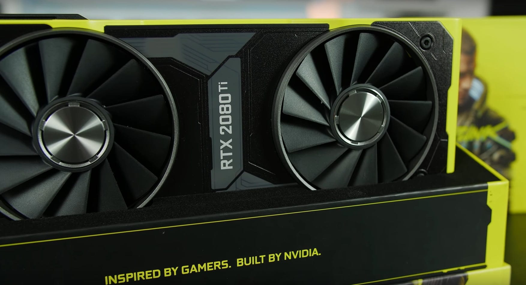 der8auer published a video with disassembly and overclocking of an exclusive video card GeForce RTX 2080 Ti Cyberpunk 2077 Edition