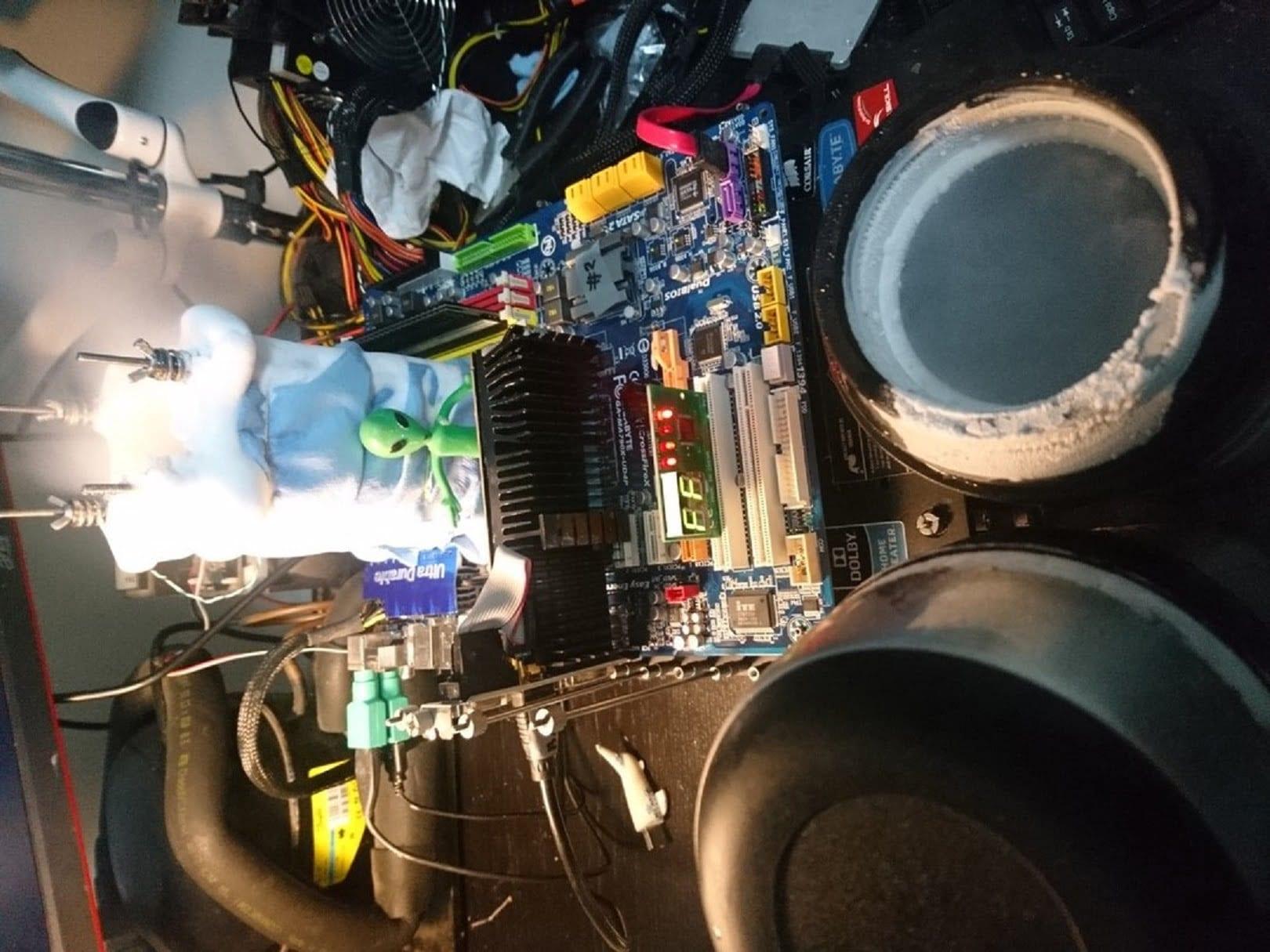sergmann отличился первым местом в модельном зачете чипа Intel Core i9-9900KS