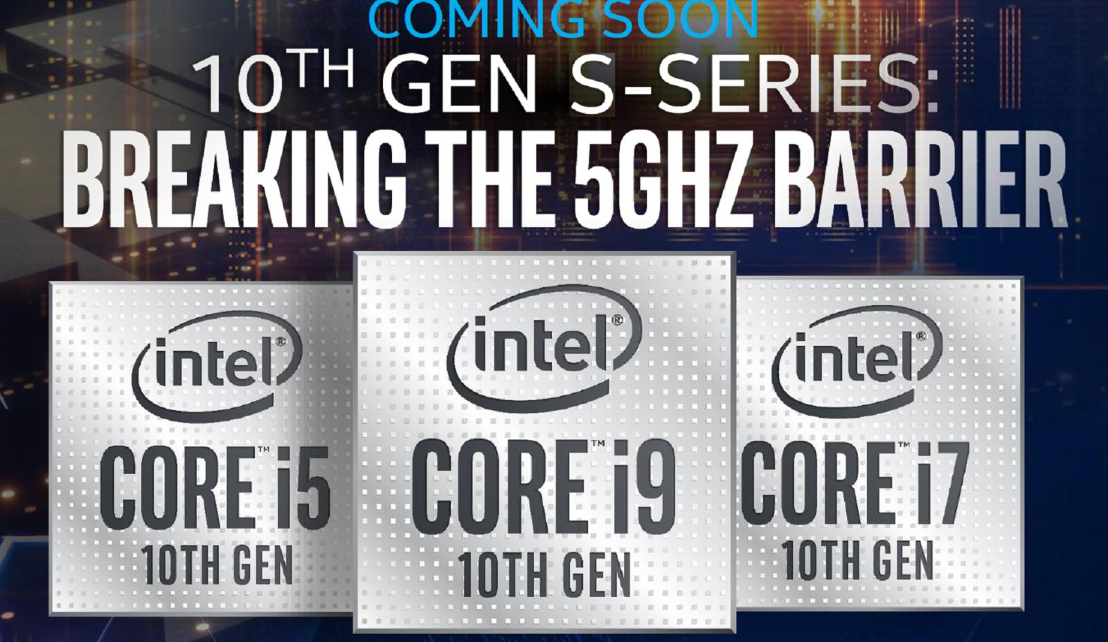 Чипы Intel Core 10-го поколения для разъема LGA 1200 могут выйти в уже апреле