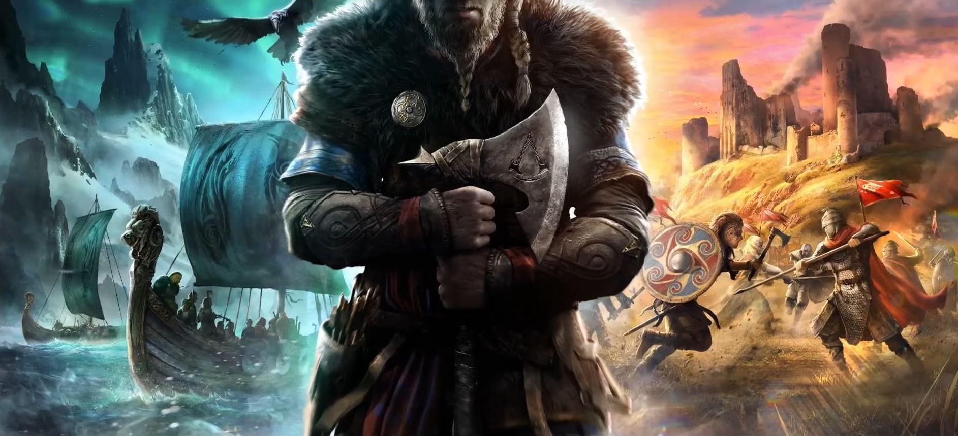 Теперь про викингов: Ubisoft анонсировала новую часть Assassin's Creed под названием Valhalla