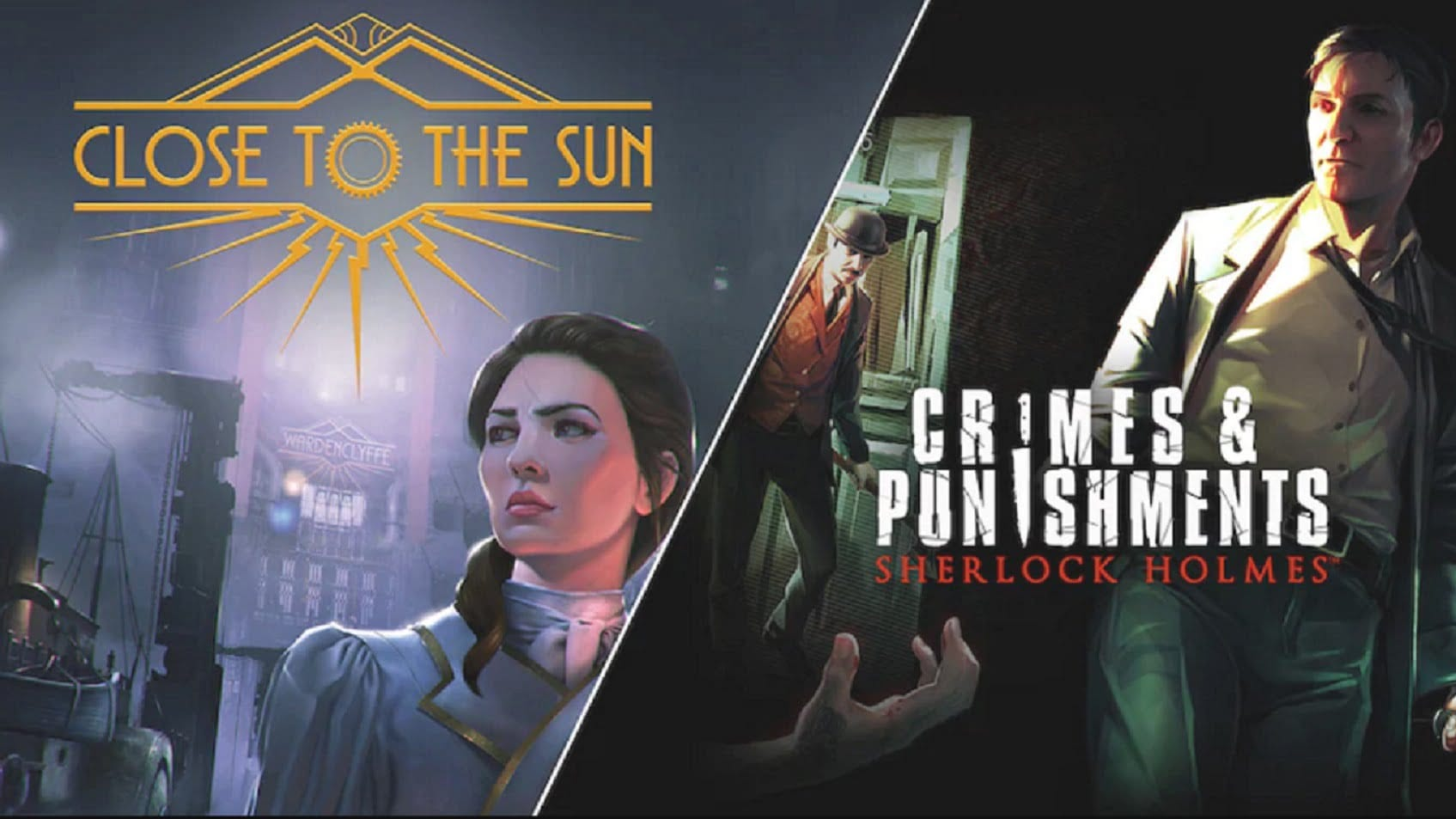 EGS набирает обороты: бесплатная раздача игр Close To The Sun и Sherlock Holmes: Crimes and Punishments