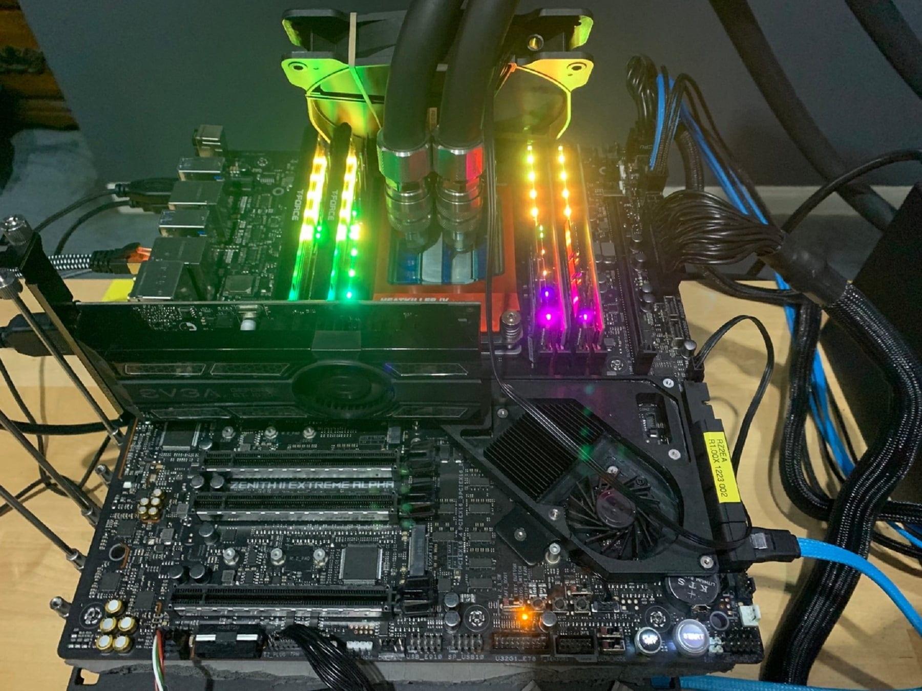 keeph8n установил два рекорда в 24-ядерном зачете с помощью чипа AMD Ryzen Threadripper 3960X