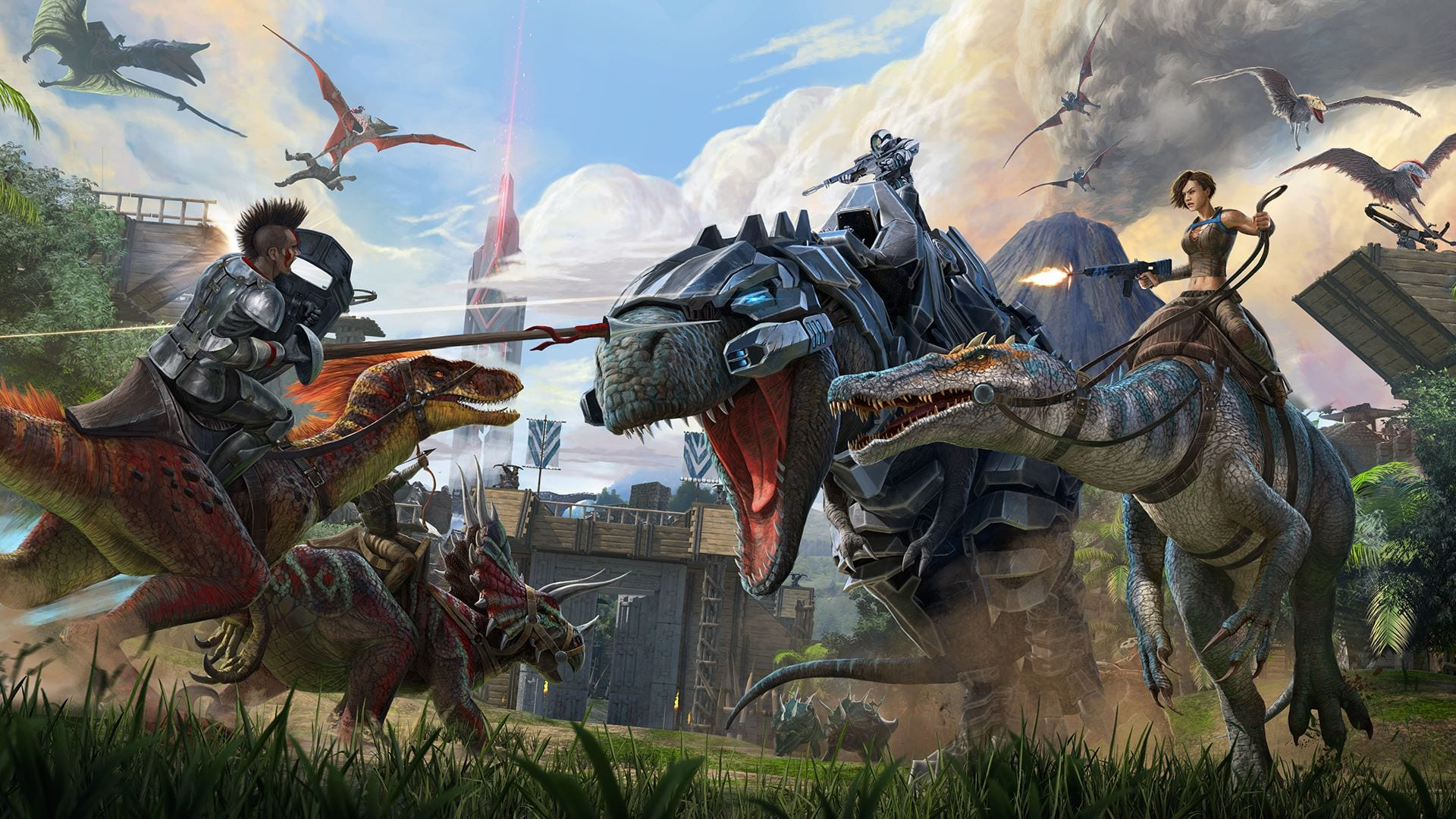 В магазине Epic Games можно бесплатно получить игру ARK: Survival Evolved