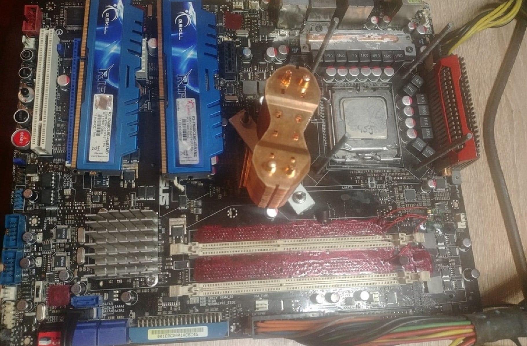 Intel Celeron 420 на частоте 4040.88МГц: TerraRaptor вновь заполучил несколько золотых медалей на платформе LGA 775