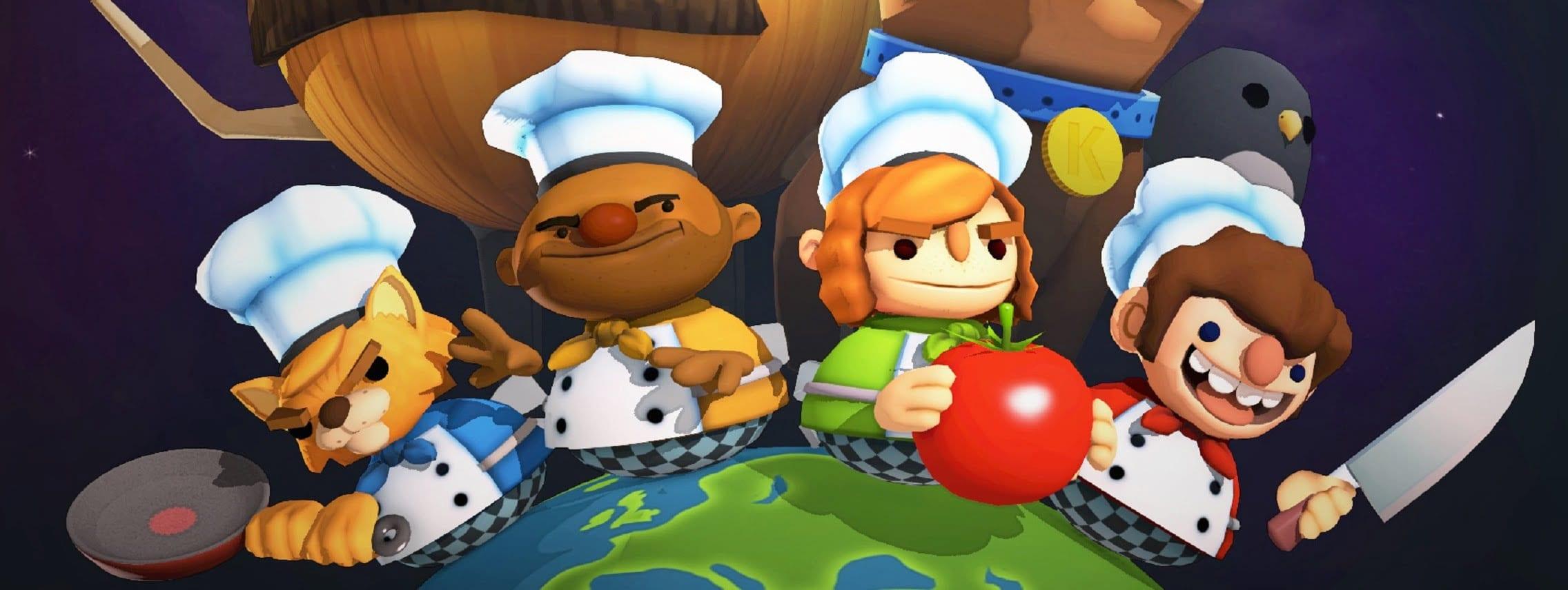 В магазине Epic Games можно бесплатно получить игру Overcooked