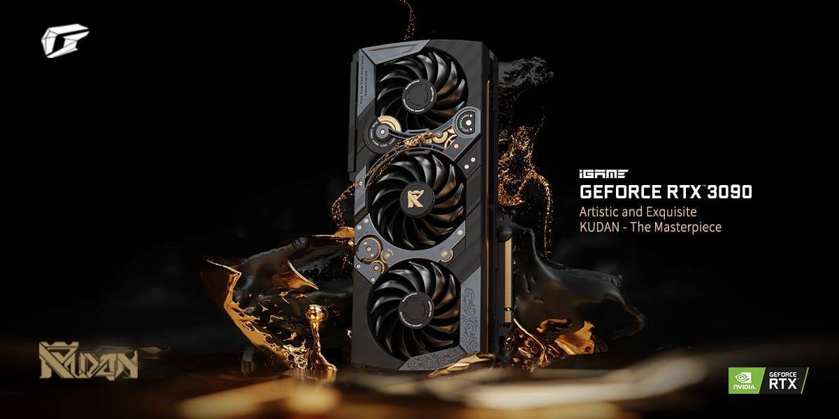 Colorful представила уникальную видеокарту iGame GeForce RTX 3090 KUDAN с ценником 4999$